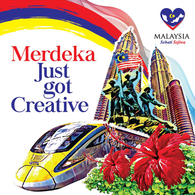 Malay Pertandingan Reka Poster Merdeka 2016 Graphic LAB Malaysia